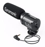 Saramonic SR-M3 lengvas mikrofonas video kamerai