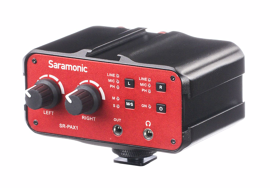 Saramonic SR-PAX1 universalus audio mikseris 2-CH / Universal Audio Mixer