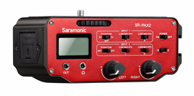 Saramonic SR-PAX2 audio mikseris 3.5mm ir XLR 2-CH / 2-CH Audio Mixer 3.5mm & XLR