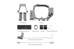 DJI Mavic Pro/Pro Platinum dronui skirta transportavimo ir paleidimo ore sistema / Air Drop System