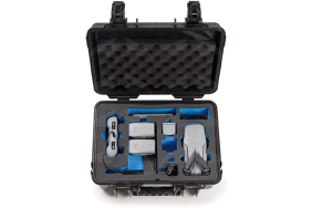 B&W Type 4000 kietas lagaminas Mavic Air 2 Combo dronui / Case