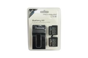 Pro-Mounts Battery/Charger Kit HERO5. 6 & 7