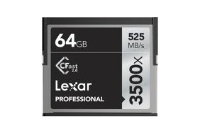 Lexar Pro 3500x CFast (VPG-130) R525/W445 64Gb