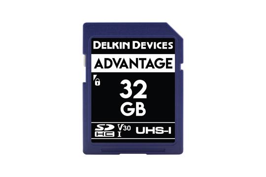 Delkin SD Advantage 660x UHS-I U3 (v30) R90/W90 32Gb