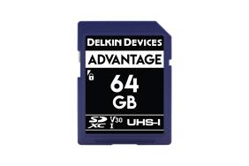 Delkin SD Advantage 660x UHS-I U3 (v30) R90/W90 64Gb