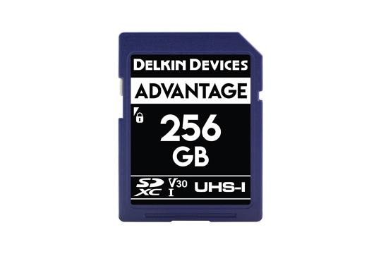 Delkin SD Advantage 660x UHS-I U3 (v30) R90/W90 256Gb