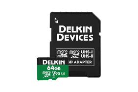 Delkin microSD Power 2000x UHS-II (v90) R300/W250 64Gb