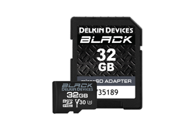 Delkin microSD Black Rugged (v30) R90/W90 32Gb