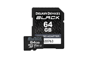 Delkin microSD Black Rugged (v30) R90/W90 64Gb