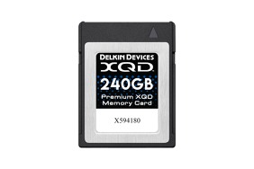 Delkin XQD 2933x R440/W400 240Gb