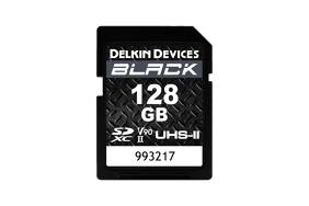 Delkin SD Black Rugged UHS-II (v90) R300/W250 128Gb