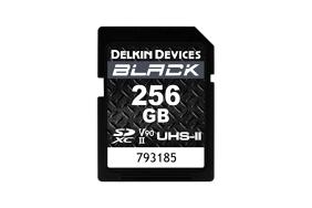 Delkin SD Black Rugged UHS-II (v90) R300/W250 256Gb