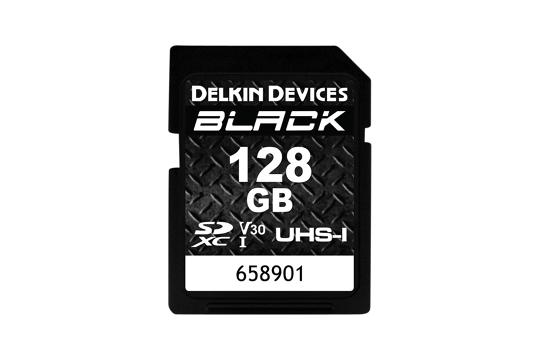 Delkin SD Black Rugged UHS-II (v30) R90/W90 128Gb