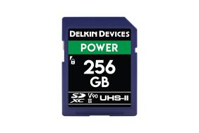 Delkin SD Power 2000x UHS-II U3 (v90) R300/W250 256Gb
