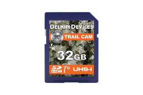 Delkin Trail Cam SDHC (v10) R100/W30 32Gb