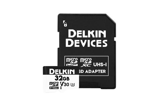 Delkin Trail Cam Hyperspeed microSDHC (v30) R100/W75 32Gb