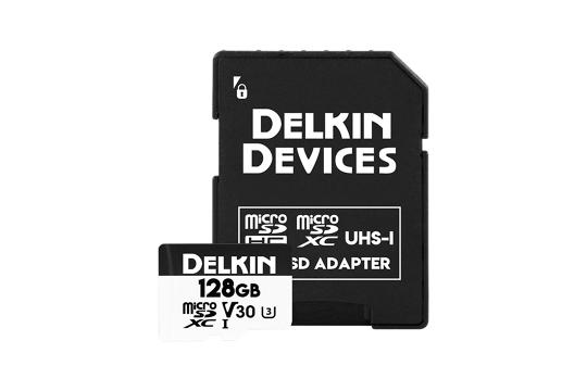 Delkin Trail Cam Hyperspeed microSDHC (v30) R100/W75 128Gb