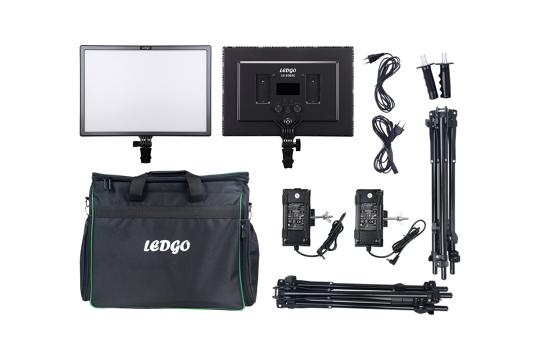 Ledgo LG-e268c 2 Light Kit width Stand And Bag