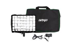 Ledgo E268c 26.8W Bi-Color Kit Egg Crate & Bag