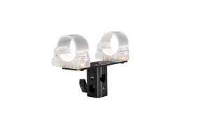 Ledgo Transparent Clip for 1 Alta Tube with 5/8""