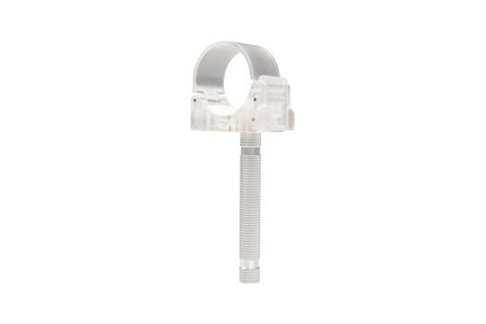Ledgo Transparent Single Clip with Pillar