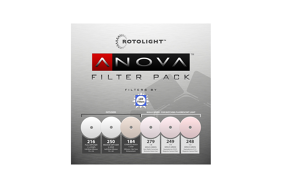 Rotolight Replacement Filter Pack for Anova Pro