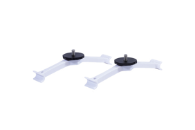 Lume Cube Drone Mounts for DJI Phantom 4 White