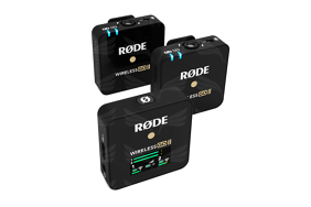 Rode Wireless Go II bevielė garso įrašymo sistema / Dual channel wireless microphone system