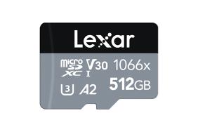 Lexar Pro 1066x microSDHC/microSDXC UHS-I (Silver) R160/W120 512Gb