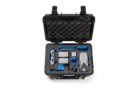 B&W Type 4000 lagaminas su baterijų įkrovimo funkcija DJI Mavic Air 2/Air 2S dronams / Charge-in-case