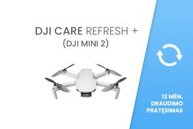 DJI Care Refresh+ (DJI Mini 2) 12 mėn. draudimo pratęsimas