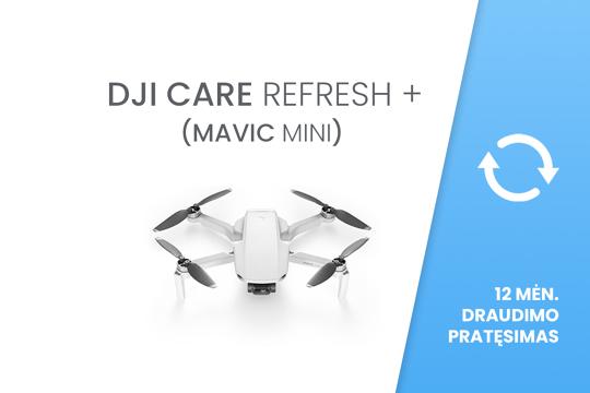 DJI Care Refresh+ Mavic Mini EU 12 mėn. draudimo pratęsimas