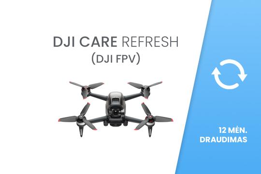 DJI Care Refresh (DJI FPV) 12 mėn. draudimas