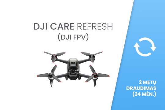 DJI Care Refresh (DJI FPV) 24 mėn. draudimas