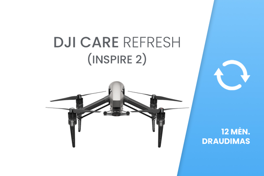 DJI Care Refresh (Inspire 2 orlaiviui / aircraft)