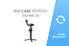 DJI Care Refresh (DJI RSC 2) 12 mėn. draudimas