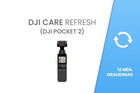 DJI Care Refresh (DJI Pocket 2) 12 mėn. draudimas