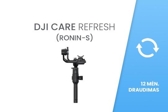 DJI Care Refresh (Ronin-S) 12 mėn. draudimas