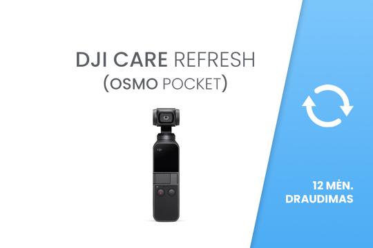 DJI Care Refresh (Osmo Pocket) 12 mėn. draudimas
