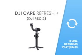 DJI Care Refresh+ (DJI RSC 2) EU 12 mėn. draudimo pratęsimas