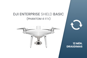 DJI Enterprise Shield Basic draudimas Phantom 4 RTK dronui
