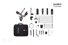 DJI RS 2 Pro Combo stabilizatorius su papildomais priedais / Gimbal