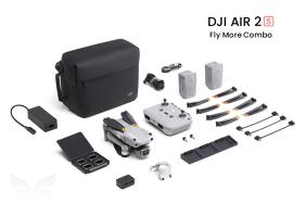 DJI Air 2S Fly More Combo dronas su papildomais aksesuarais