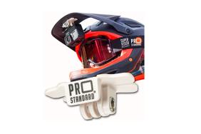 Super Visor 2.0 Low Profile Under Visor Helmet Mount for GoPro
