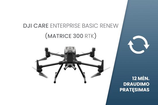 DJI Care Enterprise Basic Renew (M300 RTK) EU 12 mėn. draudimo pratęsimas