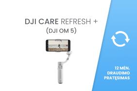 DJI Care Refresh + 12 mėn. draudimo pratęsimas (DJI OM 5)