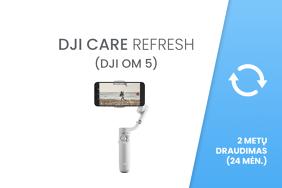 DJI Care Refresh 24 mėn. draudimas / 2-Year Plan (DJI OM 5)