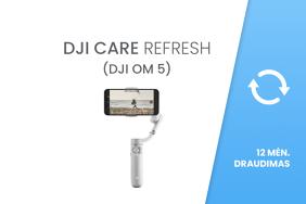 DJI Care Refresh 12 mėn draudimas / 1-Year Plan (DJI OM 5)