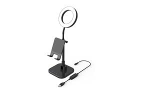 """Digipower Success telefono laikiklis su 15 cm žiedine lempa / Phone Holder with 6"""" ring light DP-WSH-PH6"""