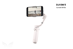 DJI Osmo Mobile 5 stabilizatorius / OM 5 (Sunset White)